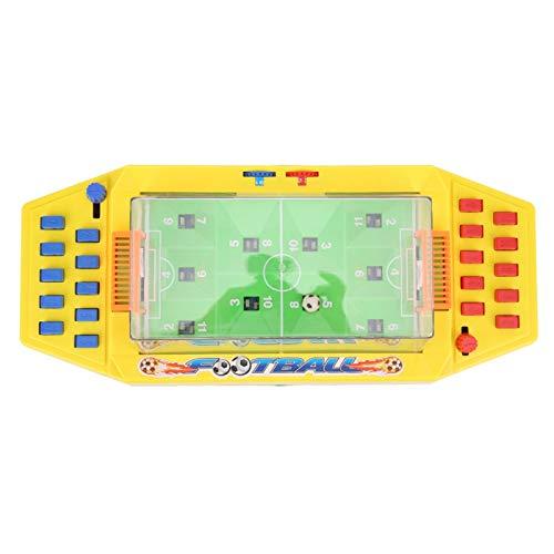 Jeanoko Finger Toys Protective Entertain Dual Player Battle Interacción de dos jugadores Conveniente Padres-hijos Catapulta Fútbol Simple Juego de mesa para niños