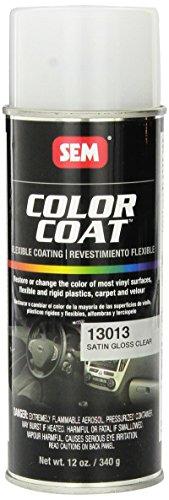 SEM 13013 Satin Clear Color Coat - 12 oz.