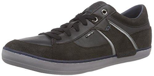 Geox Herren U Box C Sneakers, Schwarz (C6524MUD/BLACK), 44
