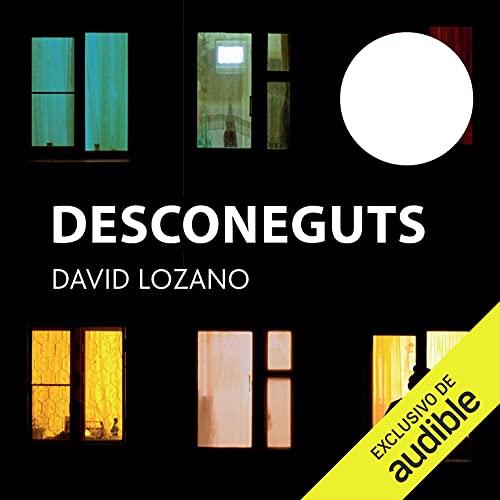Diseño de la portada del título Desconeguts (Narración en Catalán)