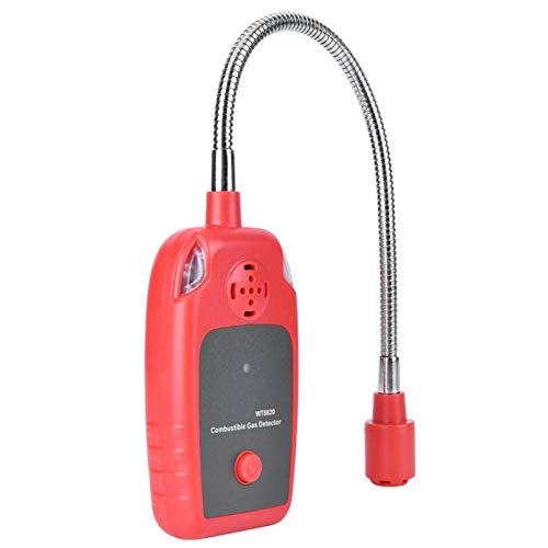 Oumefar Gasprüfgerät Brenngasdetektor WT8820 Gasmelder Erdgasleckalarm Tragbar für den Einsatz zu Hause