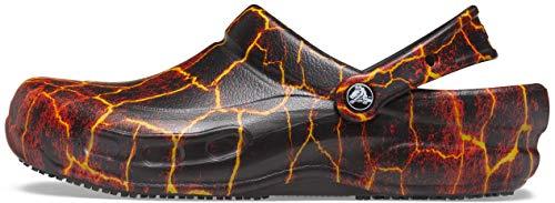 Crocs Zuecos Bistro Unisex para Hombre y Mujer | Zapatos de Trabajo...