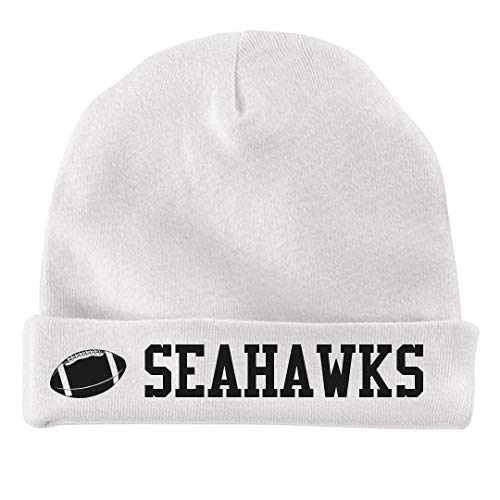 FUNNYSHIRTS.ORG Baby Football Seahawks Fan: Infant Baby Hat