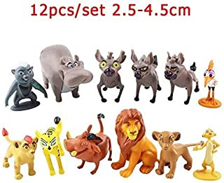 The Lion King Simba Collection Luxury Home Décor Inspirational Figures Collectable Toys Latest Cake Ornament (A)