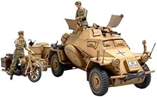 Tamiya 300035286–1:35WWII Special Automotive 222Direct-Action Reconnaissance Tank North Africa (3)
