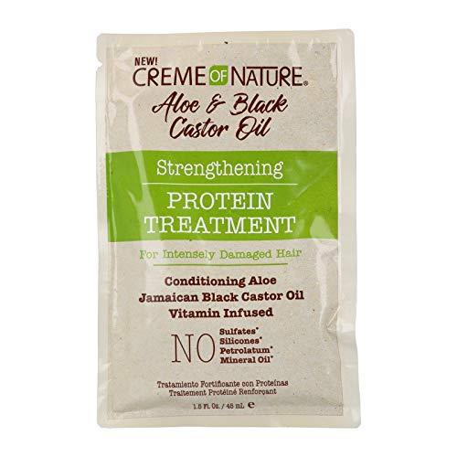 Creme of nature aloe & black castor strength protein treatment 46 ml (envelope)