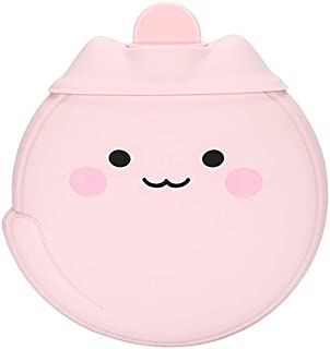 Baby Hot Water Bottle Soft Silicone Pink 450ml for Bed Warmer Elise