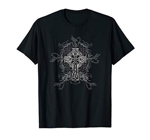 Celtic Cross Cool Fashion Artistic Design T-Shirt