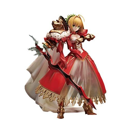 CQ Fate/Gran Orden: Sabre - Nero Claudio (3ª Ascensión Version) 1: 7 Escala de Colección de PVC Estatua de Anmie Figura Series Toys