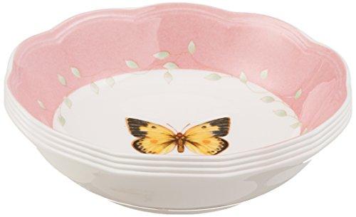 Lenox Butterfly Meadow 4-piece Dessert Bowl Set, 1.65 LB, Multi