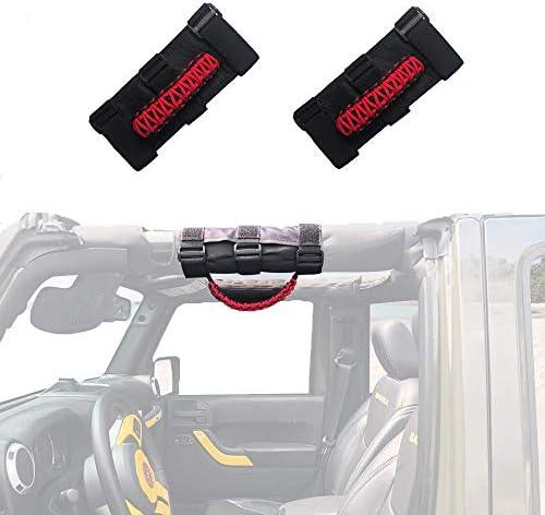 Micephon Jeep Wrangler Grab Handles Grip Handles for Jeep Wrangler YJ CJ TJ JK JKU JL JLU Sahara product image