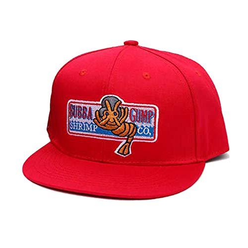 Bubba Gump Cap Shrimp Co. LKW-baseballmütze Sommer Sport-Hysteresen-Kappe Forrest Gump Justierbarer Hut Für Frauen-Mann