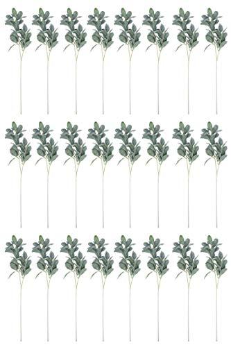 Creative Co-Op Kunstpflanzen, Zitronenbaum, 71,1 cm, 24 Stück, Grün