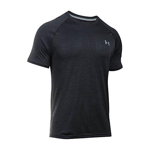 Under Armour Tech T-Shirt - Men's Black/Black/Graphite, M