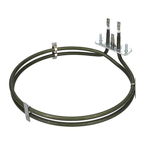 LUTH Premium Profi Parts verwarmingselement hete lucht element oven 2400W 230V oven geschikt voor Miele Imperial 8346760 8230000 8021959