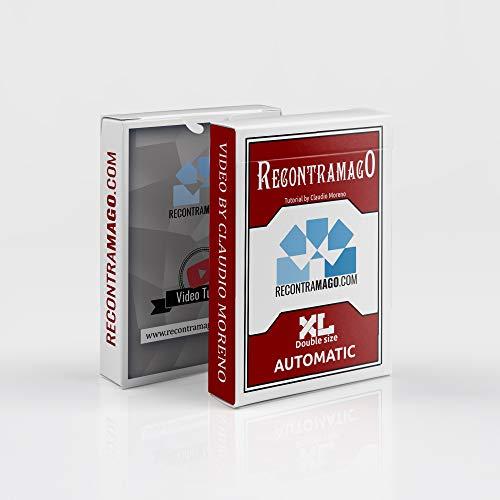De beste trucs van de magie met kaarten nu maat XL – exclusieve video van Claudio Magia voor kinderen en volwassenen.