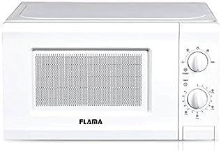 Flama 1817FL Encimera Solo - Microondas (Encimera, Solo microondas, 20 L, 700 W, Giratorio, Blanco)