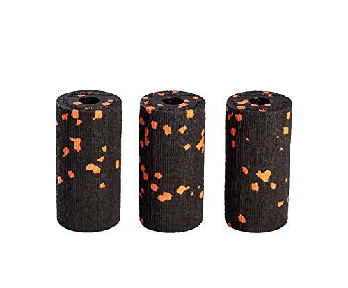 blackroll-orange Micro 6cm Faszienrolle im 3er Pack. Die Faszien-Rolle im Hosentaschenformat