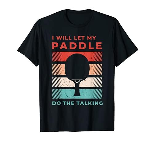 Camisas de ping pong y regalos de tenis de mesa para ping pong Camiseta