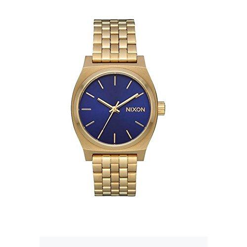 Nixon Reloj Analogico para Mujer de Cuarzo con Correa en Acero Inoxidable A1130-2811-00