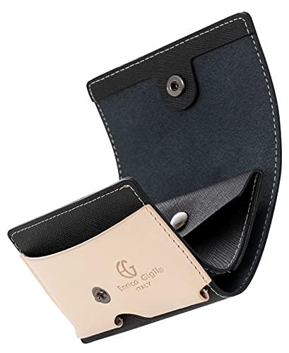 [ビジネスマン サポート] ミニ財布 小さい財布 ミニ財布 メンズ 3つ折り 財布 カードケース コンパクト 男女兼用