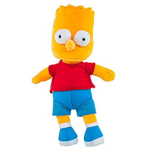 Teddys Rothenburg Kuscheltier Bart Simpson gelb/rot/blau 35 cm Plüschfigur The Simpsons
