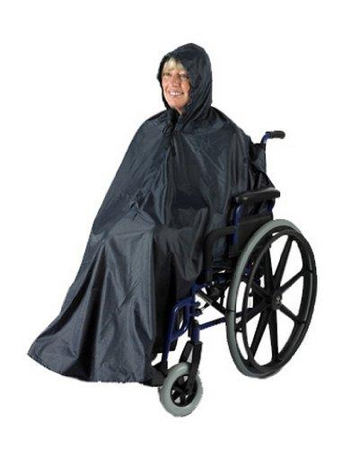 Ability Superstore - Regencape ohne Ärmel für den Rollstuhl, schwarz