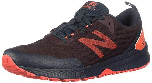New Balance Men's Nitrel V3 Trail Running Shoe, Henna/Coral Glow, 8.5 XW US