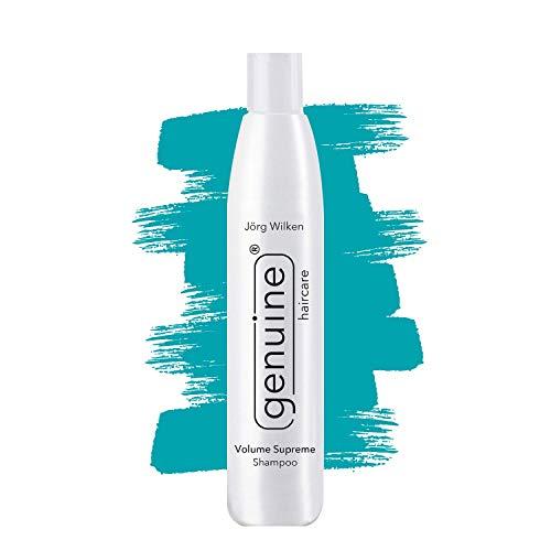 Volume Supreme stärkendes Shampoo für feines/duennes Haar, gegen Spliss/Frizz, für Volumen, verringert Haarausfall & leicht fettige Kopfhaut, genuine haircare