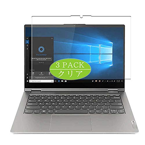 VacFun 3 Piezas Claro Protector de Pantalla, compatible con Lenovo ThinkBook 14s Yoga GEN 1 14', Screen Protector Película Protectora(Not Cristal Templado)