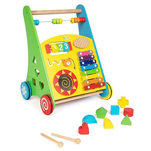 Lauflernwagen für Babys aus Holz von boppi® – Musik - 4