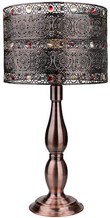 18 inch Tall DIY Industrial Art Deco Retro Creative All Metal Table Lamps Bedroom Tootoo Star product image