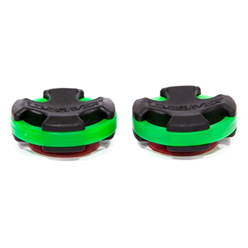 LimbSaver Broadband Dampener for Solid Limb Compound Bows, Green, 2-Pack