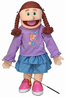 "25"" Amy, Peach Girl, Full Body, Ventriloquist Style Puppet"