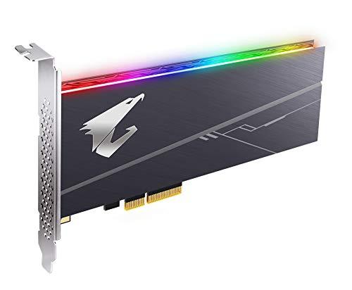 SSD GIGABYTE AORUS 1TB NVME GEN4 M.2 PCIE AIC 4.0 RGB