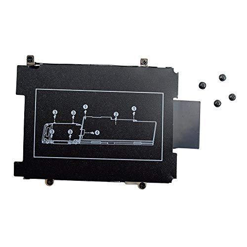 Festplatten-Halterung mit Schrauben, Ersatz für HP EliteBook 840 850 740 750 745 755 G3 Serie Laptop (nicht kompatibel mit 840 G1 G2)