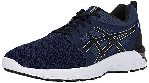 ASICS Gel-Torrance Running Shoe - 8M - Dark Blue/Black/White