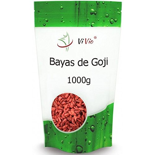 Bayas de Goji Deshidratadas Vivio, 1 kg. Nutritivas y