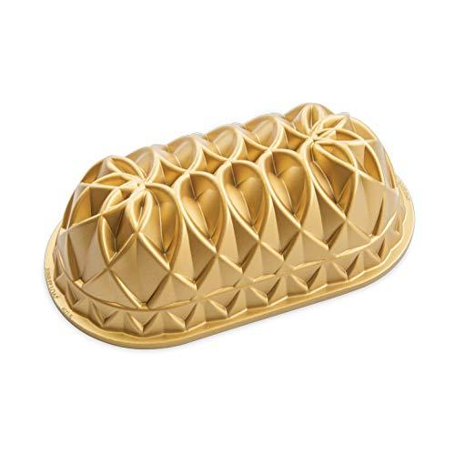 Forma Jubille Loaf Bundt da Nordic Ware - Dourado