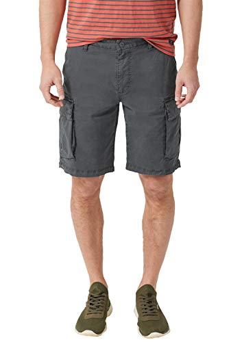 s.Oliver Herren 03.899.74.5201 Shorts, Grau (Volcano Grey 9581), W(Herstellergröße: 28)