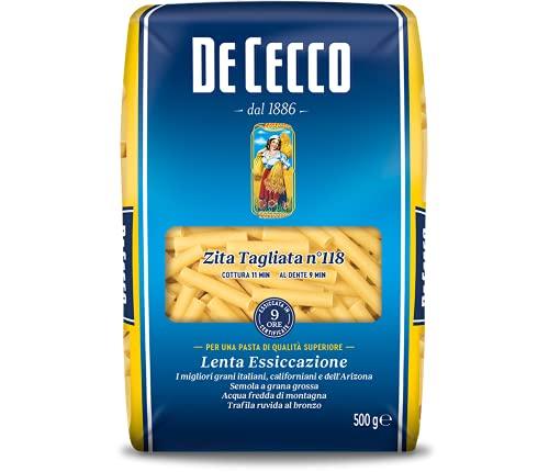 De Cecco Pasta Zita Tagliata - 6 pezzi da 500 g [3 kg]