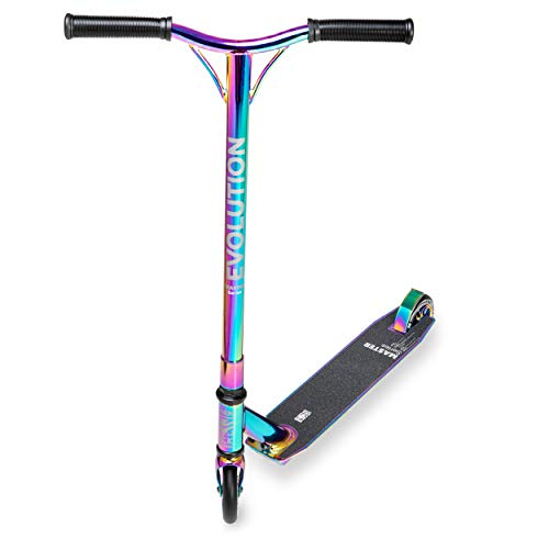 RAVEN Stunt/Freestyle Scooter, Roller, Tretroller, Cityroller Evolution Master 110mm (Neochrome)