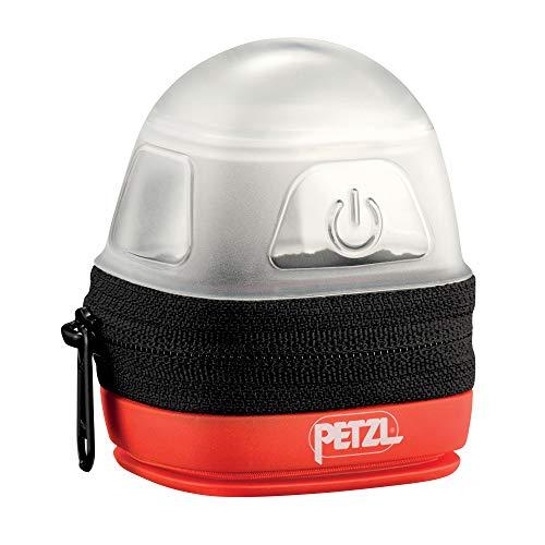 Petzl NOCTILIGHT - étuis pour équipements (Petzl, TIKKINA, TIKKA, ZIPKA, ACTIK, ACTIK CORE, REACTIK, REACTIK +, TACTIKKA, TACTIKKA +, TACTIKKA +RGB, 85 g), Noir/Orange