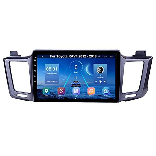 Autoradio Mit Navi Apple Carplay 9 Inch Pantalla Tactil Para Coche Reproductor Para Toyota RAV4 2012-2018 Radio Del Coche Car Player Conecta Y Reproduce Coche Audio USB Cámara Trasera