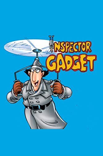 """Inspector Gadget: Lined Journal Notebook (6""""X9"""" 100 Pages), Cute Gift for Kids Teens Girls Boys, Perfect for Writing, Sketching, To Do Lists, Goals Ideas, Planner Organizer Soft Cover, Matte Finish"""