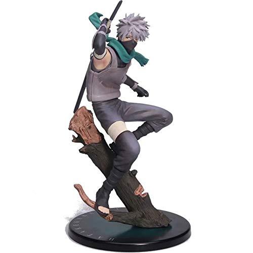 ZDYHBFE Der Lehrer Naruto Studio Pierrot Kann Den Kopf-PVC-Material-Anime-Figur-Modell-Box-Spielzeug-Geschenke Ändern
