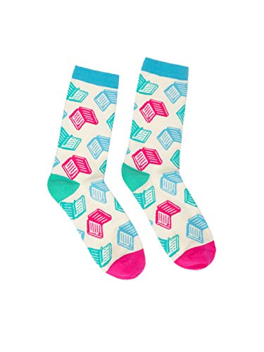 Out of Print Books, Books, Books Socks Small