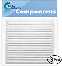 3-Pack Replacement Cabin Air Filter with Activated Carbon for Scion, Toyota - Compatible with 2006 Scion Tc, 2007 Scion Tc, 2005 Scion Tc, 2008 Scion Tc, 2006 Scion Xb, 2005 Scion Xb, 2009 Scion Tc