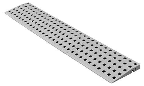 Schwellenrampe Modular für innen | Rampe für Türschwellen | In verschiedenen Höhen erhältlich | Rollstuhlrampe (1,8 cm x 75 cm)