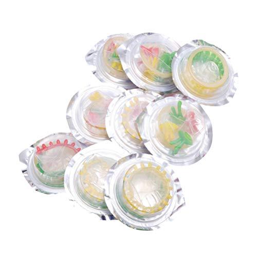 LUOEM 24 Stück Latex Kondome Blume Bunte Gesundheit Kondom Produkte Verzögern Kondome